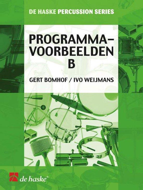 Programmavoorbeelden B - G. Bomhof  