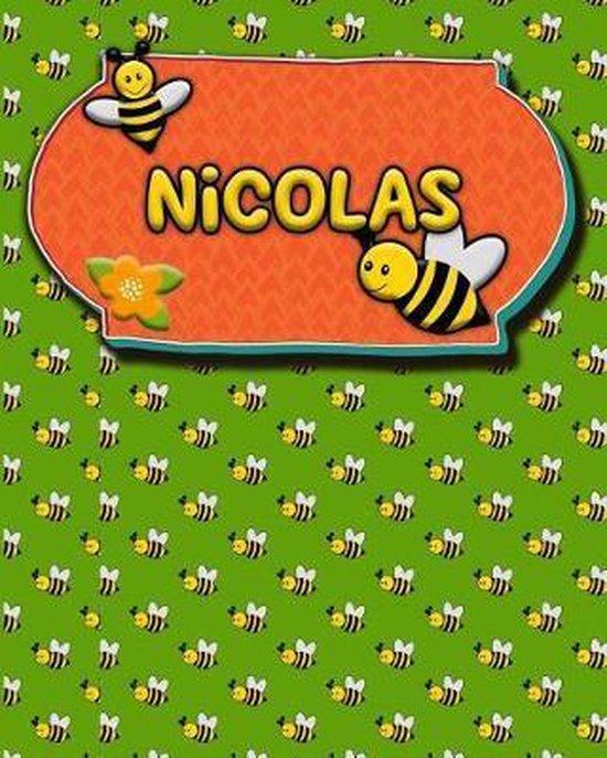 Handwriting Practice 120 Page Honey Bee Book Nicolas