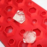 Multifunctionele Siliconen 3D Diamant Ijsblokjesvorm