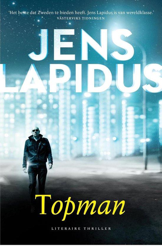 Boek cover Topman van Jens Lapidus (Onbekend)