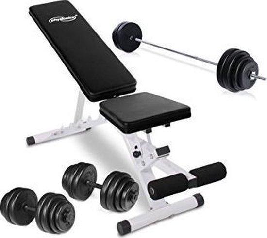 Trend24 - Beentrainer met dumbbells 30 kg