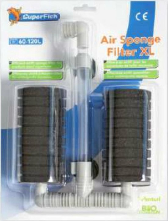 Superfish spons luchtfilter XL