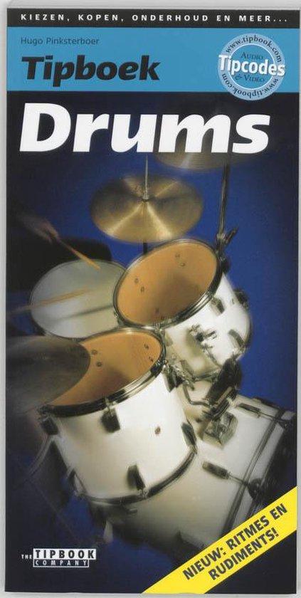Cover van het boek 'Tipboek drums'
