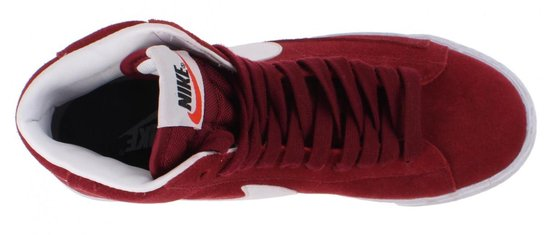 bol.com | Nike Blazer Mid Suede Team Sneakers Dames Rood Mt 38.5