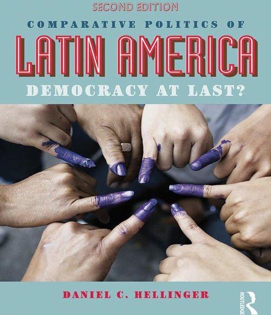 Boek cover Comparative Politics of Latin America van Daniel C. Hellinger