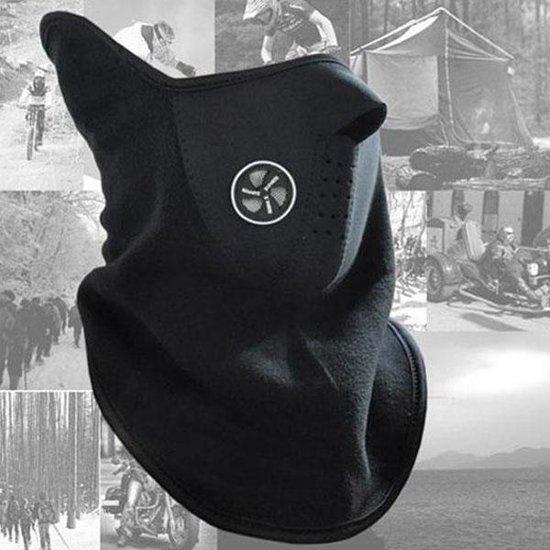 Neopreen Facemask Unisex - Zwart - One Size
