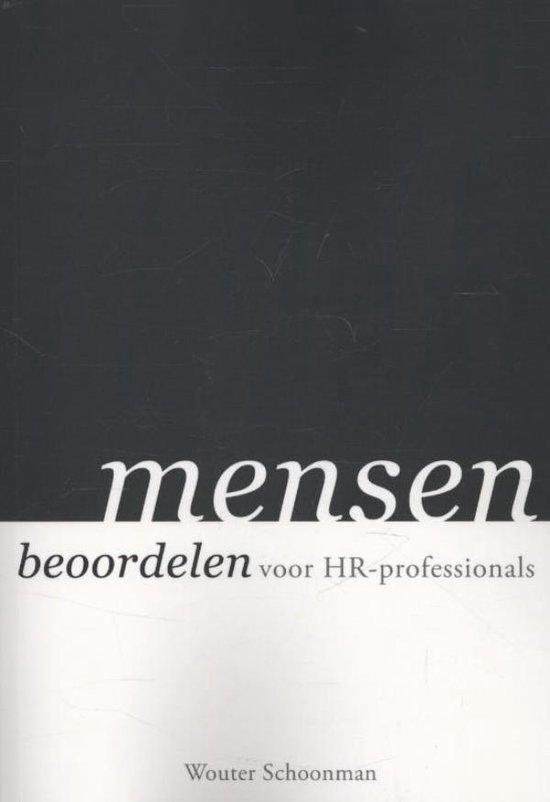 Mensen beoordelen - Wouter Schoonman pdf epub