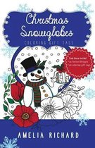 Adult Coloring Book - Christmas Snowglobes