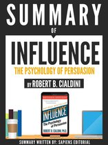 Afbeelding van Summary Of Influence: The Psychology Of Persuasion - By Robert B. Cialdini