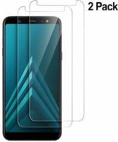 2 Stuks Samsung Galaxy A6 (2018) Beschermglas Tempered glass / Screenprotector