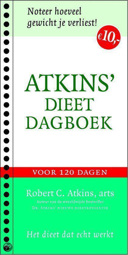 Atkins' dieetdagboek - R.C. Atkins |
