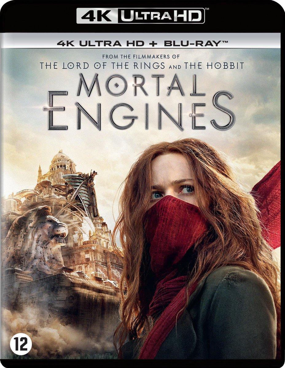 Mortal Engines (4K Ultra Hd Blu-ray)-