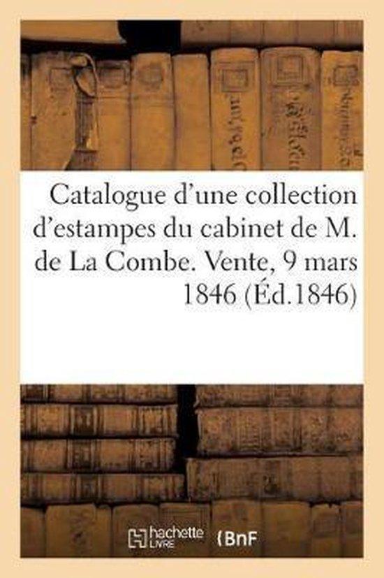 Catalogue d'une collection d'estampes anciennes et modernes provenant