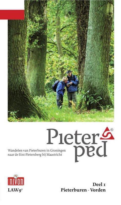 Boek cover LAW 9-1 - Pieterpad Deel 1 Pieterburen - Vorden van Maarten Goorhuis (Paperback)