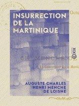 Insurrection de La Martinique