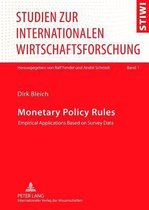 Monetary Policy Rules