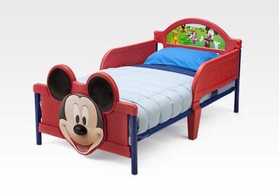 Disney Mickey Mouse Bed Rood 146 X 73 X 66cm - Disney