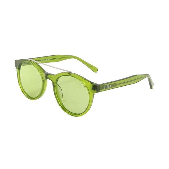 Ocean Sunglasses - Zonnebril - Unisex - 10200-15_TIBURON_TRANSPARENTGREEN - Ocean Sunglasses