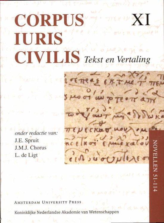 Corpus Iuris Civilis XI - Corpus Iuris Civilis Novellen 51 - 114 - none |