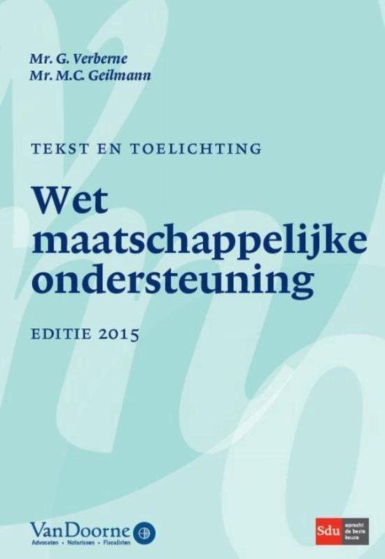 Tekst en toelichting WMO 2015 - Gijs Verberne  
