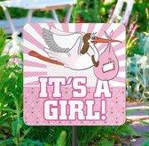 Folat - Tuinbord - It's a Girl