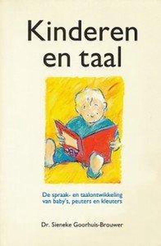 Kinderen en taal - Sieneke M. Goorhuis-Brouwer   Fthsonline.com