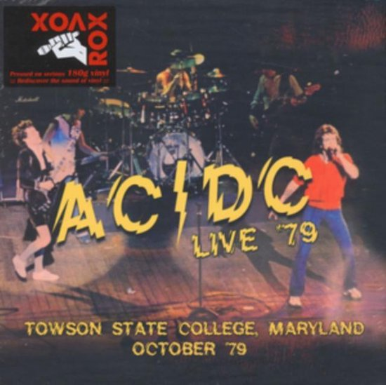 Live 79 - Towson State College / Maryland October 79
