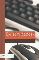 Omslag De servicedesk - spin in het facilitaire web