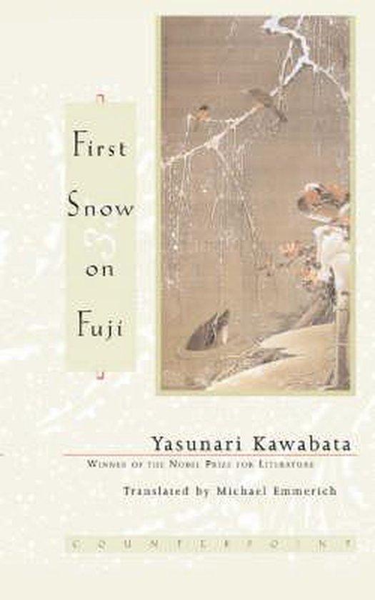 First Snow on Fuji