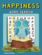 Happiness Word Search - My First Word Search