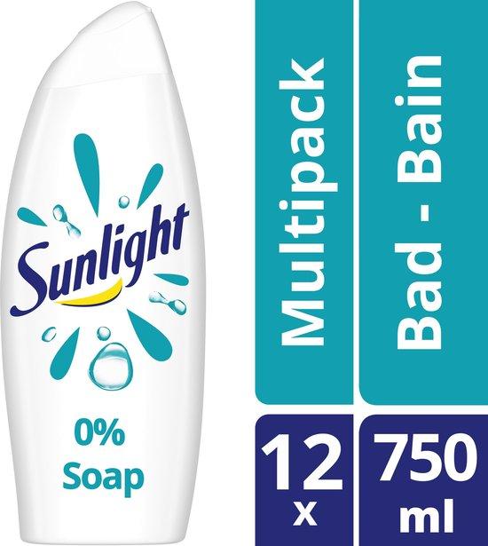 Sunlight pH-Huidneutraal Badschuim 0% Soap 750 ml (8710447412428)