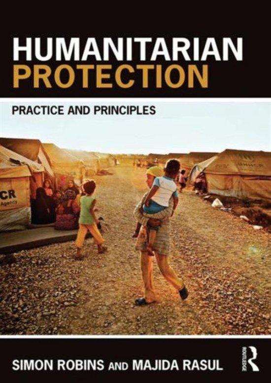 Boek cover Humanitarian Protection van Simon Robins (Paperback)