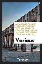 Memoir of Charles Lathrop Winslow