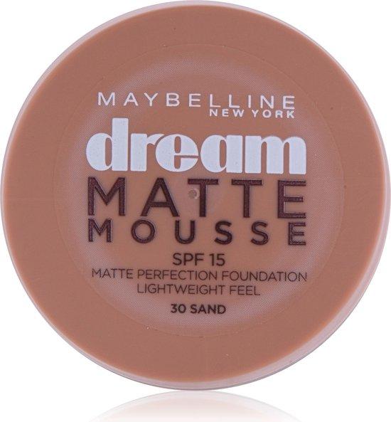 Maybelline Dream Matte Mousse 30 Sable Pot Crème