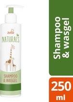 Zwitsal Naturals Shampoo&Wasgel 250ml