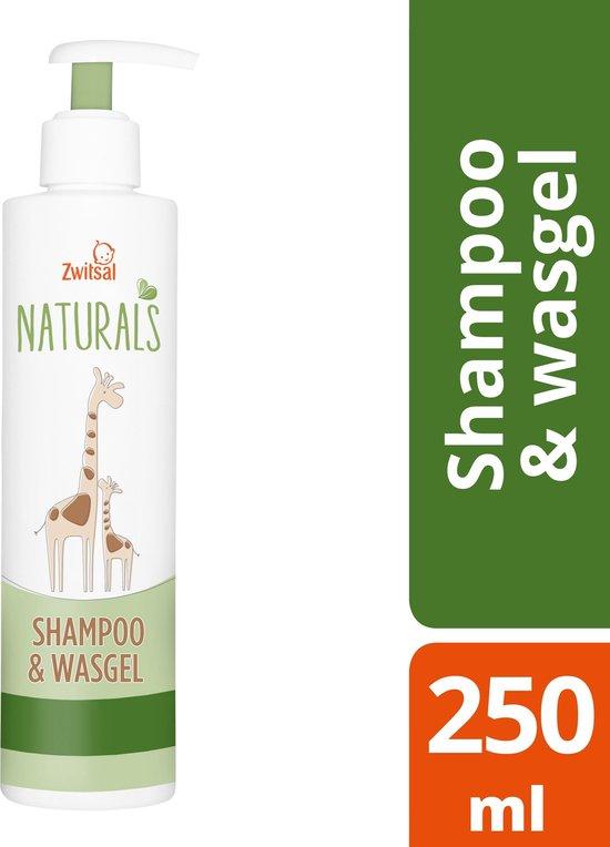 Zwitsal - Naturals shampoo & wasgel - 250ml