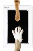 PrintMe - Paw Print Pad - Groter formaat - Pootafdruk maken van Hond of Kat - Zeer gemakkelijk - Verbeterd Formaat! - Geen inkt op de poot van uw huisdier- Groot - Leuk als cadeau!