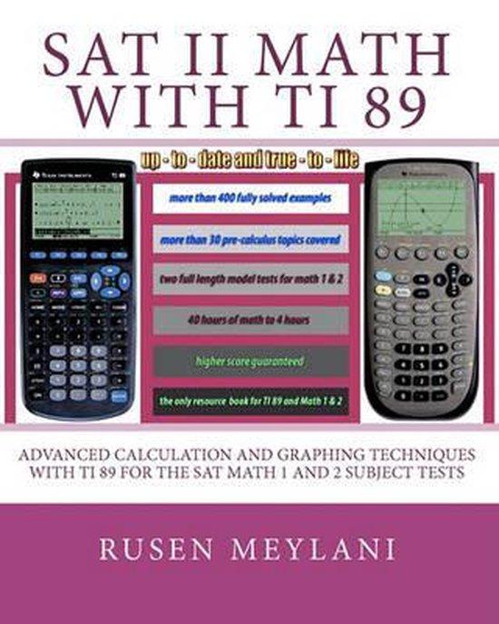 SAT II Math with Ti 89