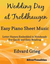 Wedding Day at Troldhaugen Easy Piano Sheet Music