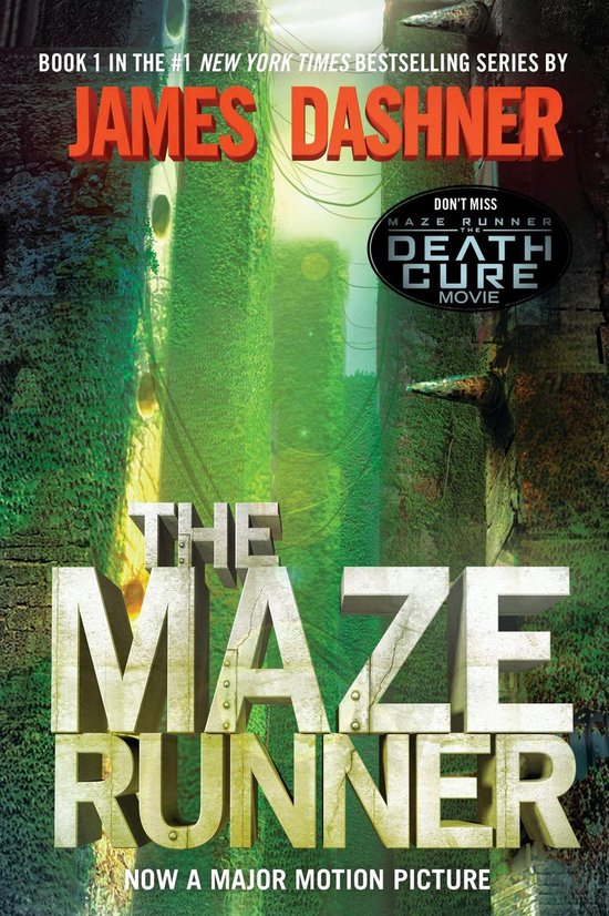 Boek cover The Maze Runner (Maze Runner, Book One) van James Dashner (Onbekend)
