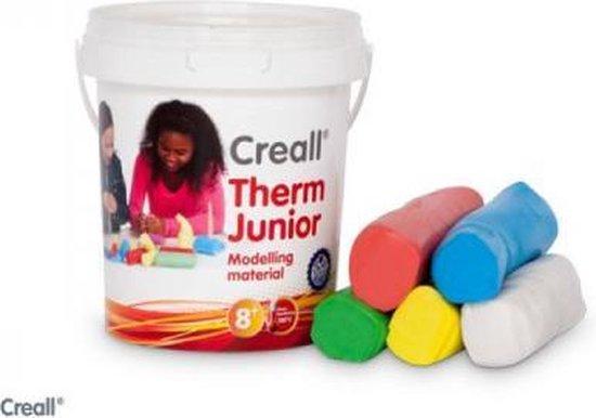 Creall Therm junior 5 kleuren 500gram Klei