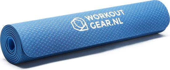 Workout Gear - Yogamat - Fitness Mat - Blauw - Anti Slip