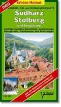 Südharz, Stolberg und Umgebung 1 : 35 000. Radwander-und Wanderkarte