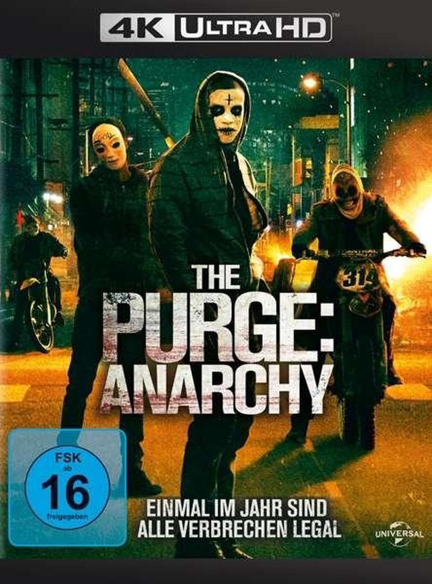 The Purge: Anarchy (Ultra HD Blu-ray & Blu-ray)-