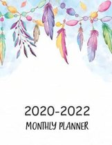 2020-2022 Monthly Planner