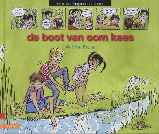 Strip voor beginnende lezers - De boot van oom Kees - Andrea Kruis |