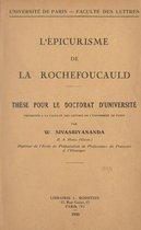 L'épicurisme de la Rochefoucauld