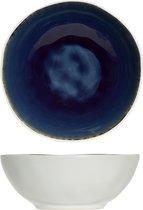 Cosy&Trendy Spirit Kommetje - Ø 17 cm x 6.5 cm - Blue - 6 stuks