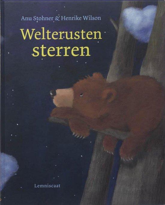 Boek cover Welterusten Sterren van Anu Stohner (Hardcover)