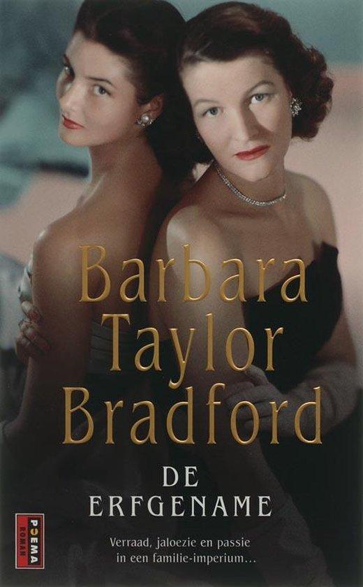 Cover van het boek 'Harte / 3 De erfgename' van Barbara Taylor Bradford en Taylor Bradford